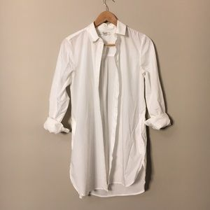 Never worn Madewell tunic blouse - with pockets!
